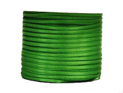 "1/16"" (1.5 mm)Double Face Satin Ribbon 100 Yard Roll Apple Green"