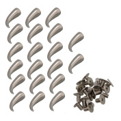 Punk Cat Claw Spikes Screwback Studs Rivet for DIY Leathercraft Pack of 20