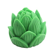 Lingmoldshop Lotus C363 Craft Art Silicone Soap Mould DIY Candy Mould Craft Moulds Handmade Candle Moulds