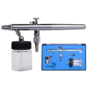 0.35mm Dual Action Bottom Feed Airbrush with Bottle