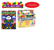 Do A Dot Art Marker Rainbow 6-pack Activity Book Gift Set - Colour Me Nursey Rhymes