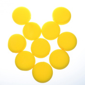 Cosmos ® 10 Pcs 6.4cm Round Synthetic Artist Sponges for Painting, Crafts