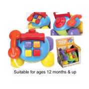 FunTime Pull Along Ringing Phone Baby Toddler Activity Learning Toy 12 months+