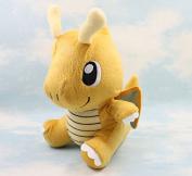 23cm 1pcs/set Pokemon Dragonite Soft Plush Eevee Plush Toy Stuffed Figure Soft Stuffed Animal Plush Doll Toy