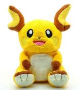 Raichu Pokemon 18cm Anime Animal Stuffed Plush Plushies Doll Toys