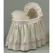 aBaby King and Queen Bassinet Set, Pink