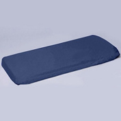 aBaby Crib/Toddler Flat and Fitted Sheet, Navy