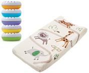 Summer Infant Ultra Plush Change Pad with Nursery Fresheners, Safari