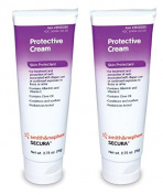 Secura Protective Cream - 80mls Tube - Pack of 2