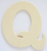 Craft Wooden Wood Letter Alphabet Q Wedding Party Home Decor DIY