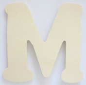 Craft Wooden Wood Letter Alphabet M Wedding Party Home Decor DIY