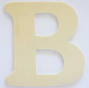 Craft Wooden Wood Letter Alphabet B Wedding Party Home Decor DIY