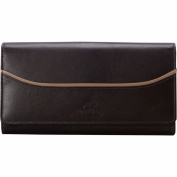Mancini Leather Goods RFID Secure Gemma Clutch Wallet