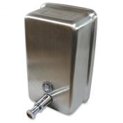 Genuine Joe GJO85134 Ss Vertical Soap Dispenser