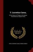 T. Lucretius Carus,