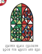 Stained Glass Coloring Book for Adults and Kids