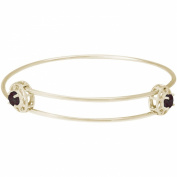 Rembrandt 'Insightful' Expandable Bangle - June, 14K Yellow Gold