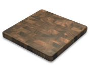 Great Essential Ironwood Gourmet 28218 Acacia-Wood End-Grain 36cm Chef's Board