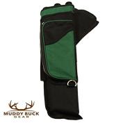 Muddy Buck Gear 3 Tube Hip Quiver Blk/Hunter Green