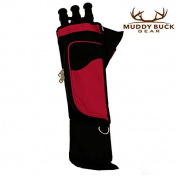 Muddy Buck Gear 3 Tube Hip Quiver Blk/Hot Pink