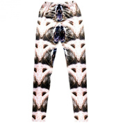 3D Fashion Printed Leggings Leisure Tights Trousers Thin Cotton Pants