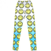 Fashion Printed Leggings Leisure Tights Trousers Comfortable Cotton Pants