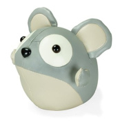 Zuny Cicci Series Mouse Grey Animal Bookend