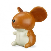 Zuny Mouse Gino Tan Animal Paperweight