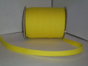 Yellow Double Fold Bias Tape 50 Yds. 1.3cm