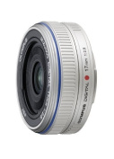 Olympus M.Zuiko 17mm f/2.8 Lens Colour: Silver Style