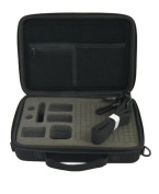 DURAGADGET GoPro Hero 4 Session / Session Surf Case - Black Armoured EVA 'Shell' Storage Case with Fully-Customizable & Shock-Absorbing D.I.Y Foam Interior for the GoPro Hero4 Session / Session Surf Headcam & other Action Cameras