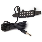 DN Easy Instal Clip Pickup for Acoustic Classical Guitar Chrome Dot