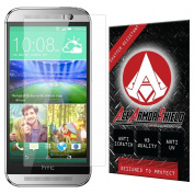 Ace Armour Shield Shatter Resistant Screen Protector for the HTC One M8 For Windows with free lifetime replacement warranty