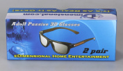 ED (Pack of 2) Sony TDG-500P Compatible Passive 3D Glasses