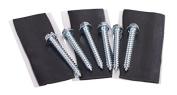 EZ 46-3 Pitch Pad Kit for Tripod / Wall Mounting - 0.6cm x 5.1cm Lags & Tar Pads
