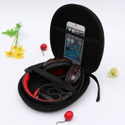ELEGIANT Headphone Earphone Headset Carry Case Storage Bag Pouch for Sony V55 NC6 NC7 NC8