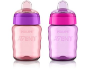 Philips AVENT My Easy Sippy Cup, 270ml, Girl by Philips AVENT