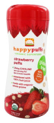 HappyBaby - Happy Puffs Organic SuperFoods Strawberry - 60ml