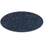 Solid Colour Round Carpet 1.8m - Blueberry