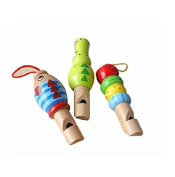 StarMall Wooden Animal Whistle--Assorted Style