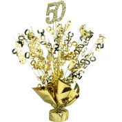 50th Anniversary Gold Centrepiece
