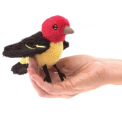 Folkmanis Mini Tanager Finger Puppet Plush