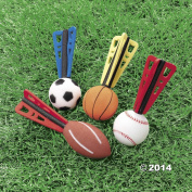 Foam Sports Ball Missiles, Set of 12