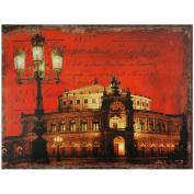 Oriental Furniture German Opera House Canvas Wall Art