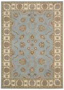 Nourison Modesto MDS18 Rectangle Rug, 1.6m by 2.2m, Blue