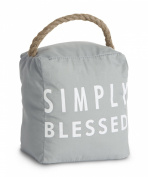 Pavilion Gift Company 72154 Simply Blessed Door Stopper, 13cm by 15cm