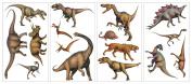 Lifelike Dinosaur Wall Decals