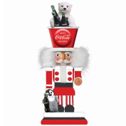 Kurt Adler Coca-Cola Hollywood Nutcracker with Polar Bear Hat, 38cm