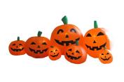 2.3m Long Inflatable Halloween Pumpkins
