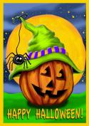 Toland Home Garden Halloween Hitcher 70cm x 100cm Decorative USA-Produced House Flag